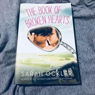 The Book of Broken Hearts by Sarah Ockler