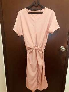 Cross Pink Dress