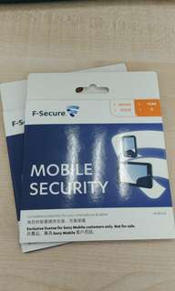 F-Secure 手機或平板防毒 (Android)