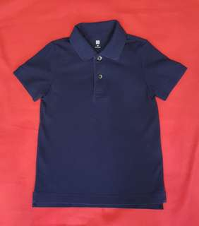 EUC Uniqlo Kids' Polo Shirt (Sz 110)