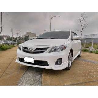 2010年 豐田ALTIS Z 2.0 白色 二手車中古車