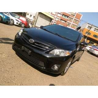 2010年 豐田ALTIS 2.0G 黑色黑內裝 二手車中古車