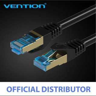 Vention CAT7 RJ45 Patch Ethernet LAN Cable Network Cable for Router Switch Computer Laptop 1.5M / 3M / 5M