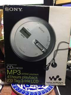 Sony CD Walkman 全套 D-NE331