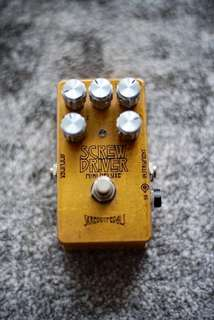 Skreddy Screw Driver overdrive pedal - Mini Deluxe edition