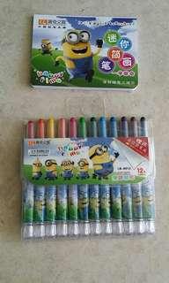 Minion crayons