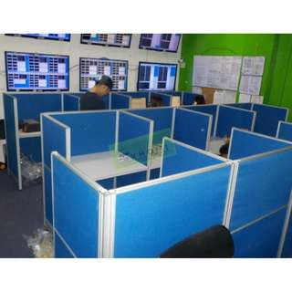 FABRIC OFFICE CUBICLES  WORKSTATIONS--KHOMI