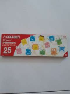 Colleen oil pastel regular size 25 colours