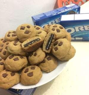 Oreo stuffed cookie
