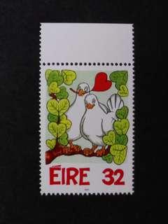 EIRE情人節郵票