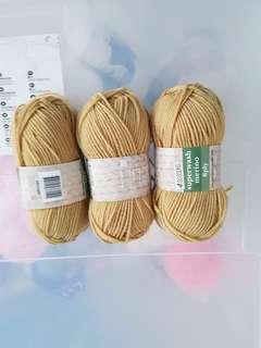 Superwash merino yarn