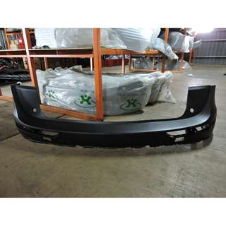 Audi Q5 Rear Bumper Empty