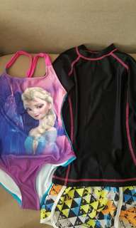 P400 for swimsuit, rash guard, and shorts