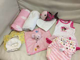 10 baby items at total $49