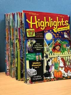 Children reading- Highlights