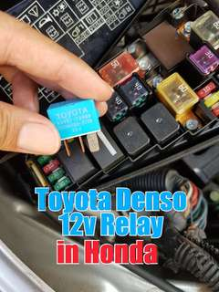 Toyota Denso 12V relay in Honda