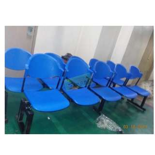 GANG CHAIRS PVC TYPE COLOR BLUE--KHOMI