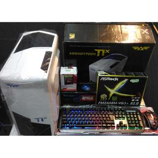 PC Gaming AMD A8 7600 4 Core / HDD 500GB / VGA R7 1GB Bergaransi Resmi