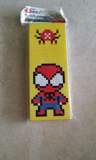 Spider-Man pencil case - DIY puzzle