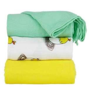 BNIB Meeyoo Chick Tula Blanket Set