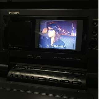 1980年,飛利浦PVR200 / VHS便攜式錄像機和電視機 Moving Video PVR 200/08 R-Player Philips Radios