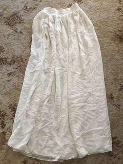 American Apparel Light Maxi Skirt