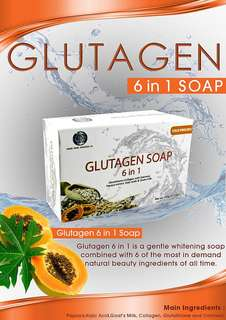Glutagen and Kojic soap