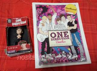 One Direction book & toy