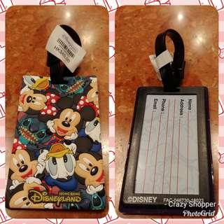 [代購] Mickey & Friends 行李牌