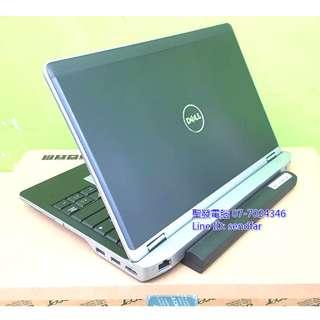 鋁鎂合金高效商務機 DELL E6230 i5-3340M 4G 500G 12吋筆電 ◆聖發二手筆電◆