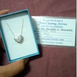 Unisilver Heart Necklace