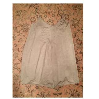 Zara metallic playsuit romper size large