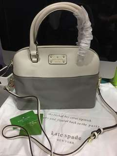Sale!!!Kate Spade dome with ykk zipper Authentic grade quality