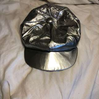 Silver festival hat size small
