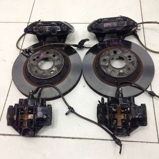 Honda Stream RN6 Front & Rear Brake Caliper w/ Front Rotor Disc Only (AS2609)