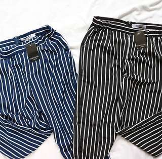Stripe Pants Zara