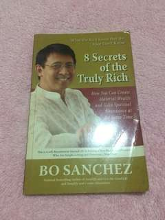 8 secrets of the truly rich by Bo Sanchez