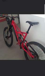 Specialised enduro comp red MTB mountain bike Shimano