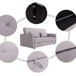 MODERN DESIGNED 3 SEATER SOFA BED WITH STORAGE