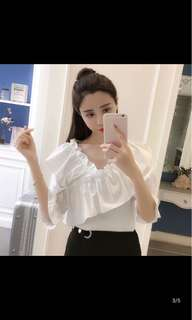[P.O] Ladies Blouse Top