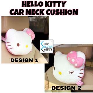 Hello kitty car neck pillow
