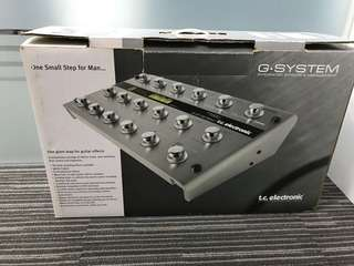 TC Electronic G-System with Heavy Duty Road Case