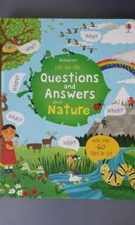 BN Usborne Lift The Flap Questions And Answers About Nature