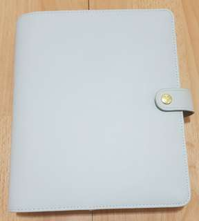 Never used large Kikki K leather planner with all inserts/stickers