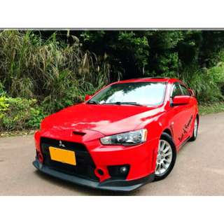 2013 三菱 FORITS 紅 1.8 頂級