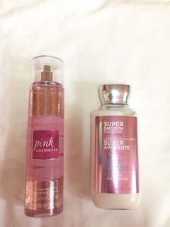 Pink Cashmere Perfume & Lotion