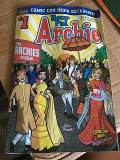 Archie comic book India Delhi Edition