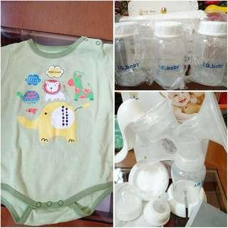 iq baby breast pump breastpump manual pompa asi iq 900 botol wadah asi