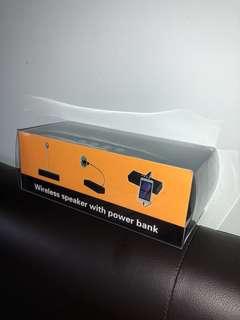 Wireless Speaker with Power Bank