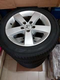 """16"""" rims + tyres"""